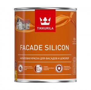 Краска для цоколей и фасадов FACADE SILICON
