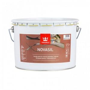 Фасадная краска Новасил для бетонных, оштукатуренных и минеральных поверхностей